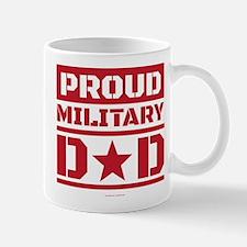 Proud Military Dad Mugs