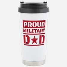 Proud Military Dad Travel Mug
