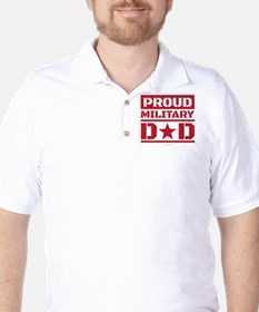Proud Military Dad T-Shirt