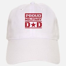 Proud Military Dad Baseball Baseball Cap