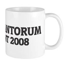 RICK SANTORUM for President 2 Mug