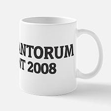 RICK SANTORUM for President 2 Mug