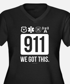 911, We Got This. Plus Size T-Shirt