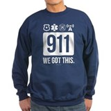 911 dispatcher Sweatshirt (dark)