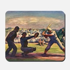 Vintage Sports Baseball Mousepad