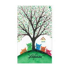 Birdhouse Stray Cats Decal