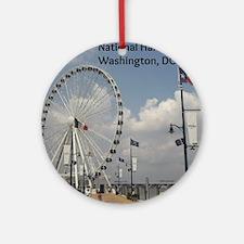 National Harbor Round Ornament