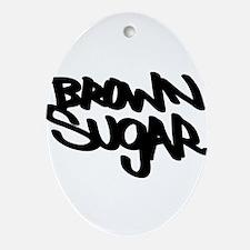 Brown sugar Ornament (Oval)