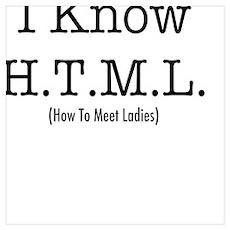 HTML Computer Nerd Poster