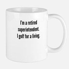 Retired Superintendent Golfer Mugs