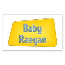 Baby Raegan Rectangle Decal