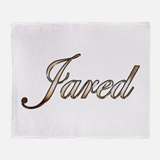 Gold Jared Throw Blanket