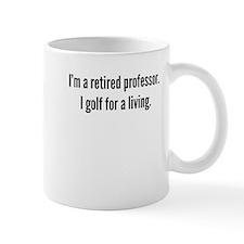Retired Professor Golfer Mugs