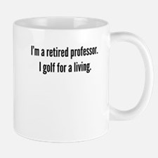 Retired Professor Golfer Mugs