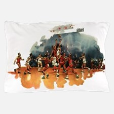 Vintage Sports Basketball Pillow Case
