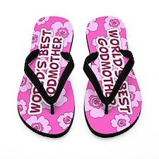 World's Best Godmother Flip Flops