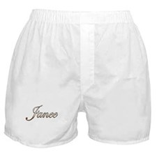 Gold Janee Boxer Shorts