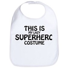 This Is My Superhero Costume Bib