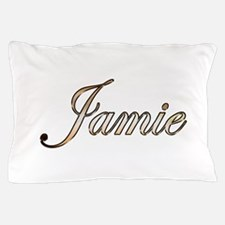 Gold Jamie Pillow Case