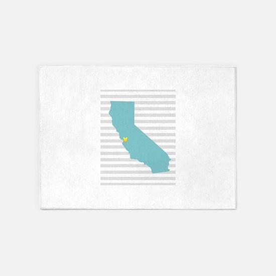 I love San Francisco 5'x7'Area Rug