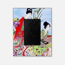 3 Geisha Musicians, Kimonos ! Picture Frame