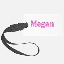 Megan Custom Floral Menagerie Luggage Tag