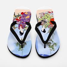 Geisha Musicians, Kimonos ! Flip Flops