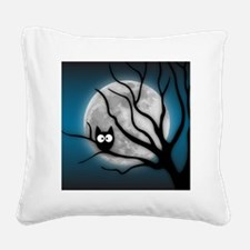 Cute Owl Square Canvas Pillow