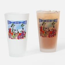 Geisha, Musicians, Kimonos ! Drinking Glass
