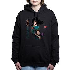 Fashion Girl Women's Hooded Sweatshirt