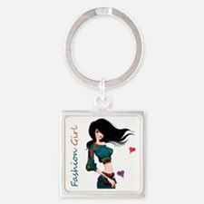 Fashion Girl Keychains