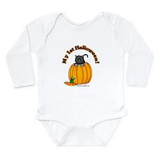 Cool Cute cat Long Sleeve Infant Bodysuit