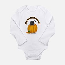 Unique Baby%27s 1st halloween Long Sleeve Infant Bodysuit