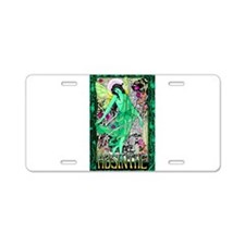 Absinthe Green Fairy Aluminum License Plate