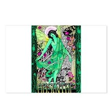 Absinthe Green Fairy Postcards (Package of 8)