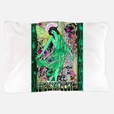 Absinthe Green Fairy Pillow Case