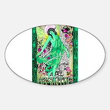 Absinthe Green Fairy Decal