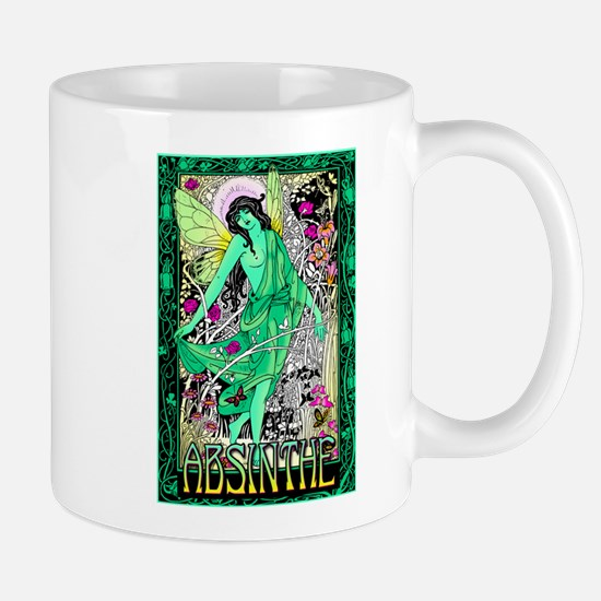 Absinthe Green Fairy Mug