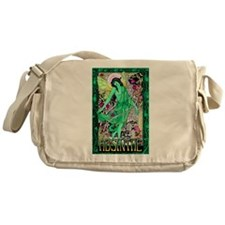 Absinthe Green Fairy Messenger Bag