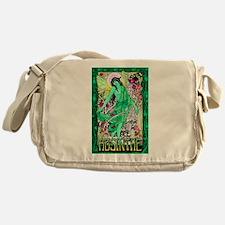 Absinthe Green Fairy Messenger Bag