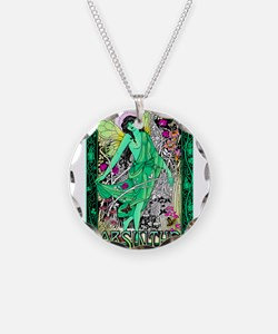 Absinthe Green Fairy Necklace