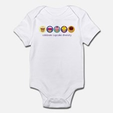 Cupcake Diversity Infant Bodysuit