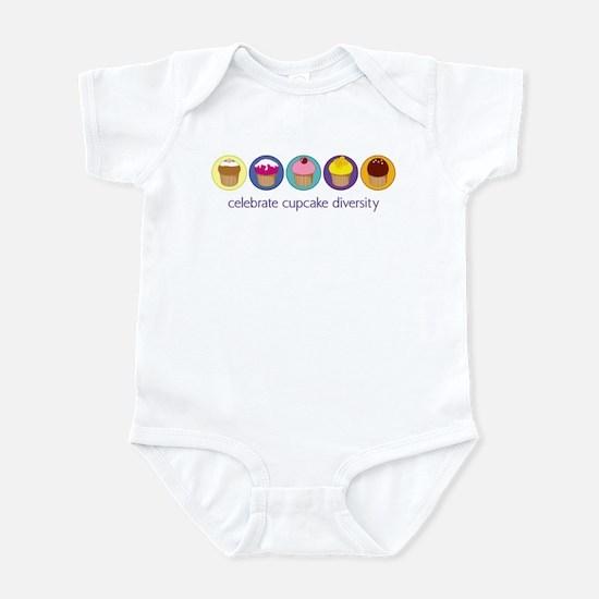 Cupcake Diversity Infant Bodysuit