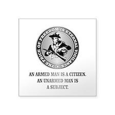 Patriot (Armed Citizen) Sticker