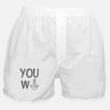 You Wanker Anchor Boxer Shorts