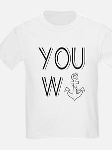 You Wanker Anchor T-Shirt