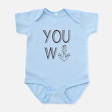 You Wanker Anchor Infant Bodysuit