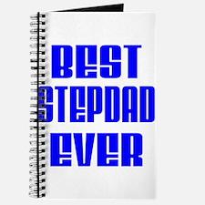 Best Stepdad Blue Journal