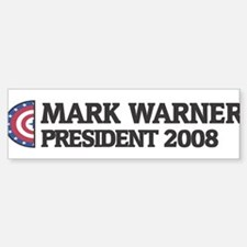 MARK WARNER for President 200 Bumper Bumper Bumper Sticker