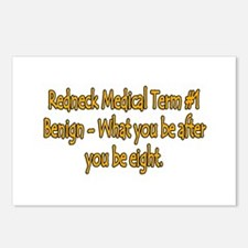 Benign Postcards (Package of 8)